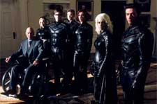 Patrick Stewart as Professor Xavier, Anna Paquin as Rogue, James Marsden as Cyclops, Shawn Ashmore as Iceman, Famke Janssen as Jean Grey, Halle Berry as Storm and Hugh Jackman as Wolverine in 20th Century Fox's X2: X-Men United - 2003