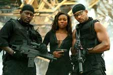 Martin Lawrence, Gabrielle Union and Will Smith in Columbia's Bad Boys II - 2003