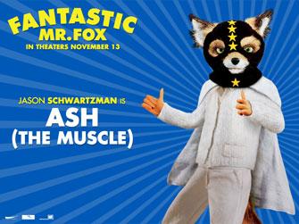 November 2009 Blackfilm Com Fantastic Mr Fox Wes Anderson And Jason Schwartzman Take A Fantastic Voyage