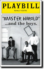 """essay master harold and the boys """"master harold """"and the boys is a play that takes place inside the st george's park tea room on a wet and windy port elizabeth afternoon in 1950."""
