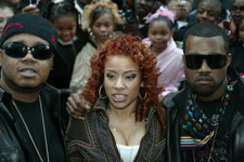 IMPOSSIBLE! Twista, Keyshia Cole and Kanye West take to the red carpet for the premiere of the new film and their theme song in Mission Impossible III.
