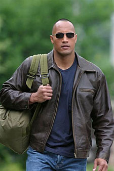 dwayne johnson walking tall