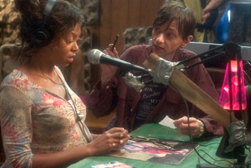 Taraji P. Henson and DJ Qualls in Paramount Classics' Hustle & Flow