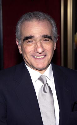 Martin Scorsese at the New York premiere of Miramax's Gangs of New York