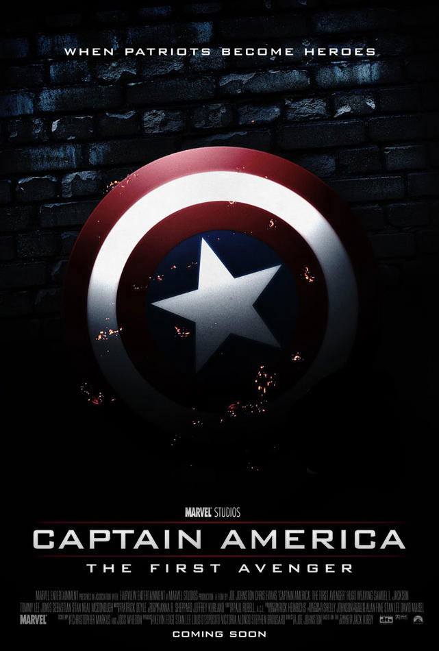 Captain America The Avengers Poster