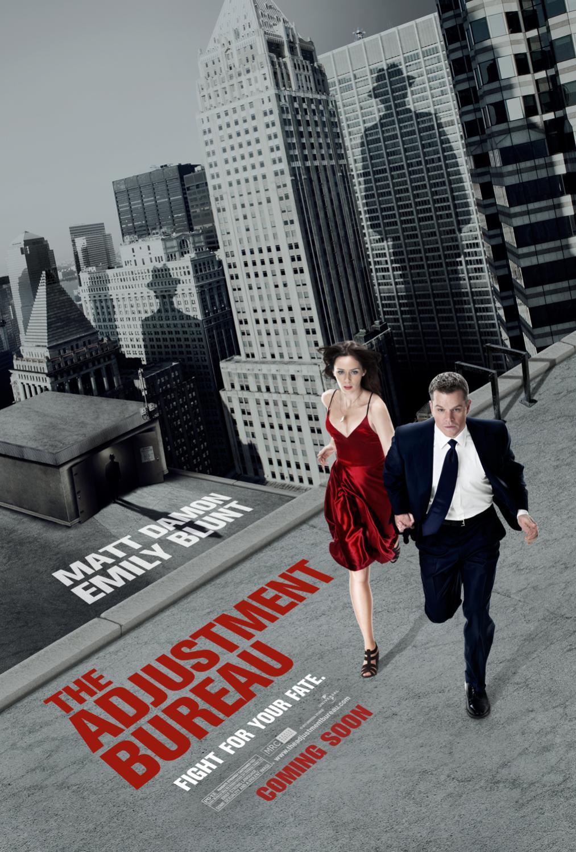 The adjustment bureau poster 1 for Bureau movie