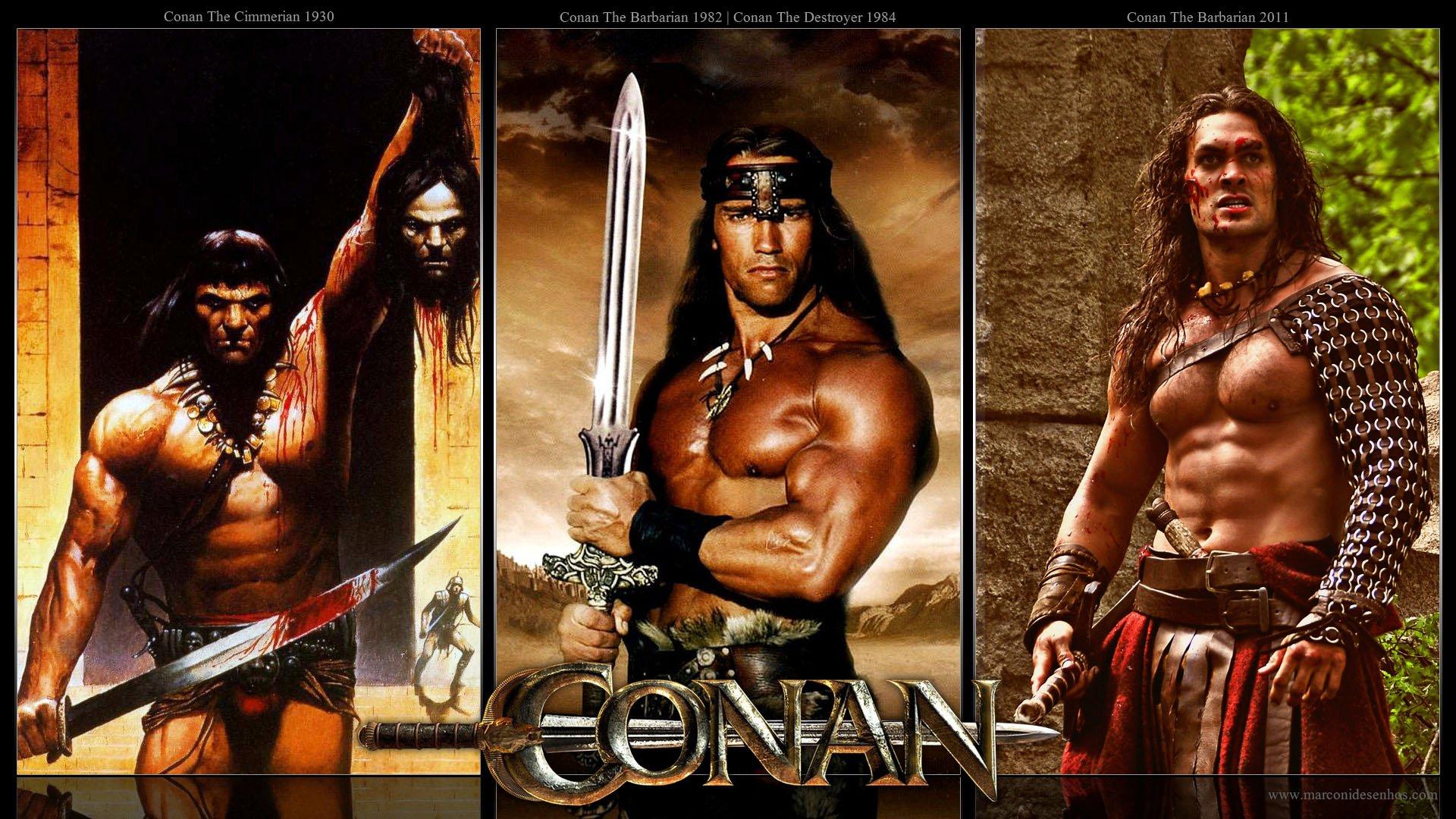 Conan 2011 Stunning conan the barbarian posters 1930 - 2011 - blackfilm/read
