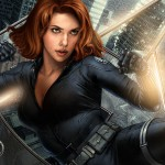 Avengers wallpaper 2 - Black Widow