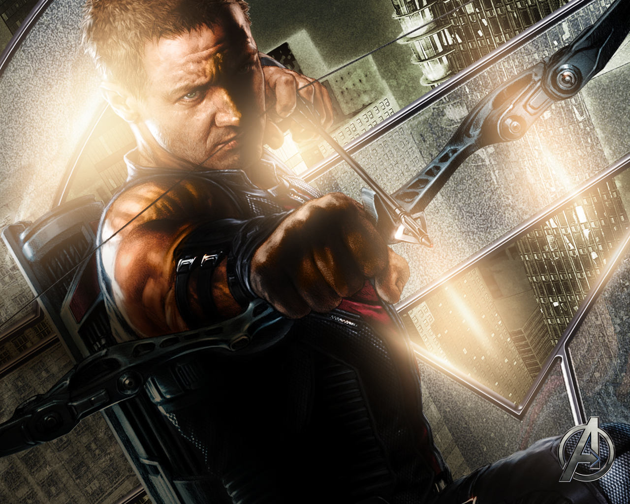 Avengers Wallpaper 2 Hawkeye