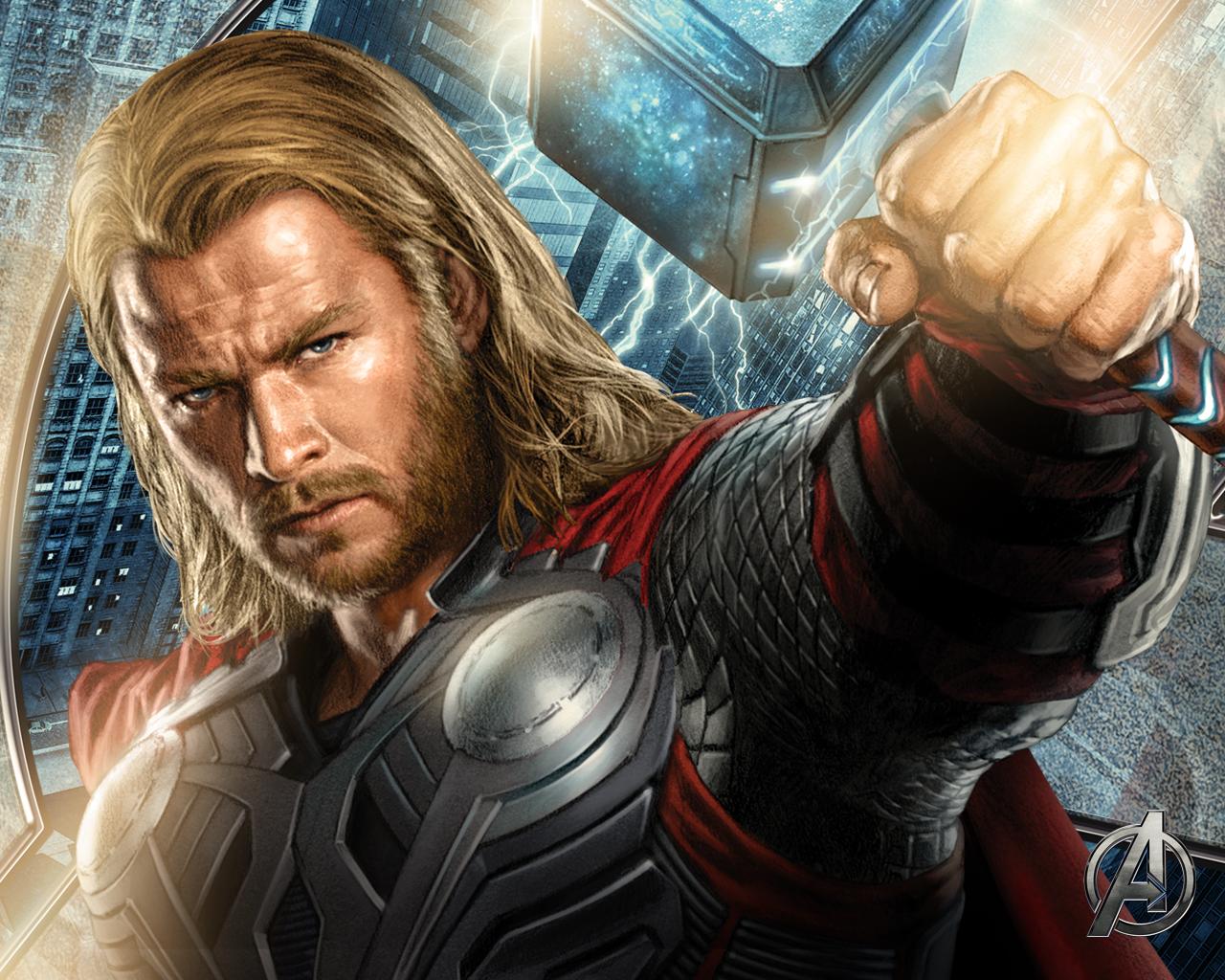 Good Wallpaper Marvel Thor - Avengers-wallpaper-2-Thor  Gallery_474644.jpg