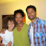 Erica Gluck, Rhonda Baraka, Eric Benet