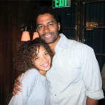 Erica Gluck and Eric Benet