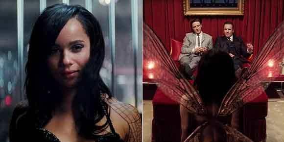 Zoe Kravitz And Jennifer Lawrence In Xmen X-Men: First Class/ Zo...