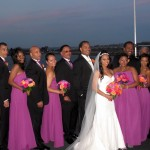 Ross Wedding 7 - Full Wedding Party- Upper deck GW