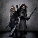 The Hobbit - Dean O'Gorman as Fili and Aidan Turner as Kili