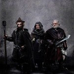 The Hobbit - Jed Brophy as Nori, Adam Brown as Ori and Mark Hadlow as Dori