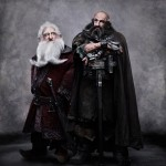 The Hobbit - Ken Stott as Balin and Graham McTavish as Dwalin