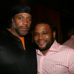 ABFF Honors - Anthony Anderson and friend