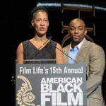 ABFF Honors Ceremony 17 - CNN spokesperson and Dennis Smith