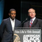 ABFF Honors Ceremony 33 - Laz Alonso and Dave Fitzwater