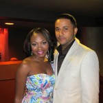 ABFF Honors - Naturi Naughton and Jason Dirden