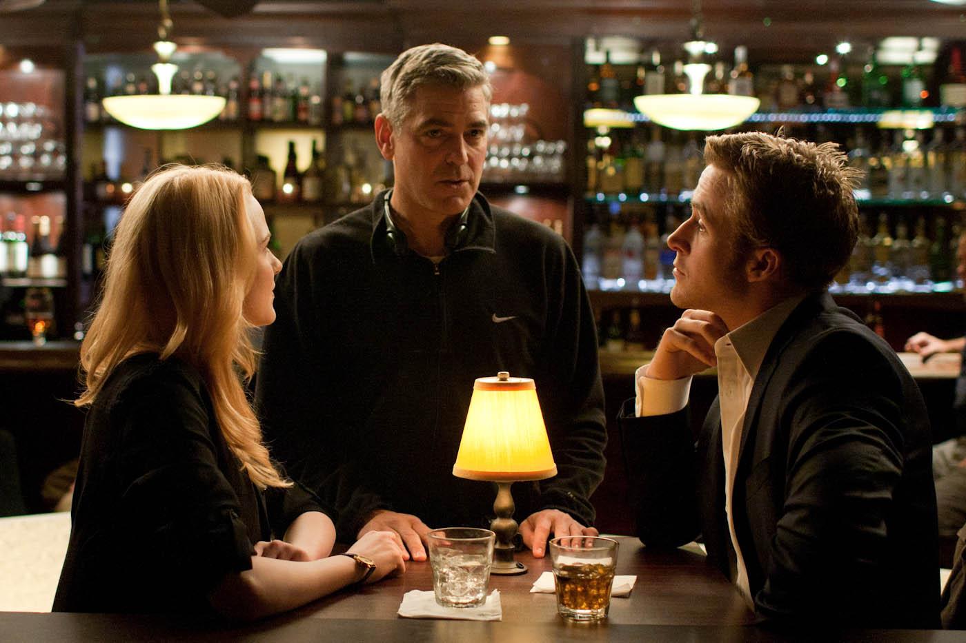 Ryan Gosling;Evan Rachel Wood;George Clooney