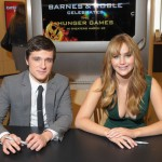 Josh Hutcherson, Jennifer Lawrence Barnes and Noble NYC 2