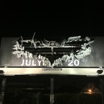 The Dark Knight Rises billboard