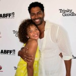 Trinity Goodheart premiere - Erica Gluck and Eric Benet 2