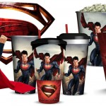 Man of Steel Superman concession cups