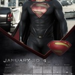 Man of Steel calendar 3