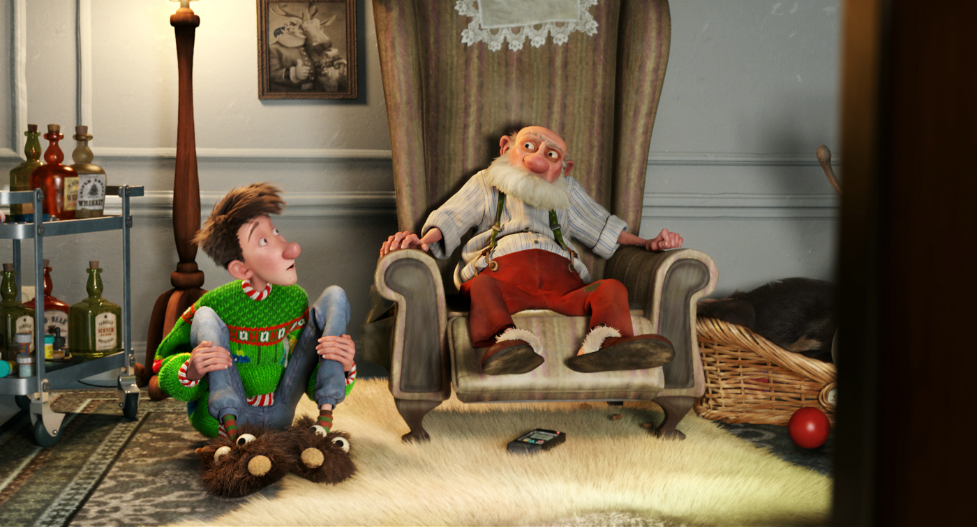 Arthur Christmas Characters.Bill Nighy Talks Arthur Christmas Blackfilm Black Movies