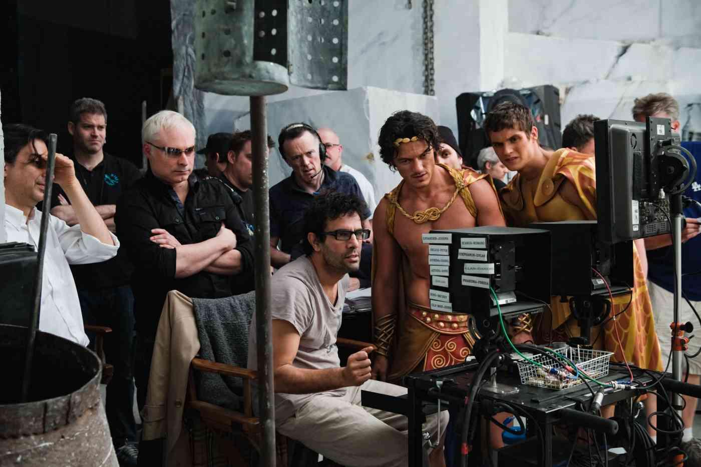 Henry Cavill and Luke Evans talk Immortals - blackfilm.com ...