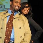 Michael Jai White and Tasha Smith
