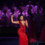 Sparkle (Jordin Sparks) performing in TriStar Pictures&#039; SPARKLE.