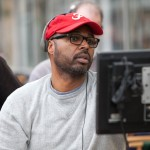 Director Salim Akil on the set of TriStar Pictures&#039; SPARKLE.