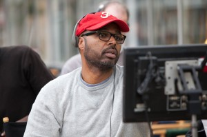 Director Salim Akil on the set of TriStar Pictures' SPARKLE.