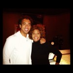 Whitney Houston and Harvey Mason