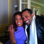 Whitney Houston and Mike Epps