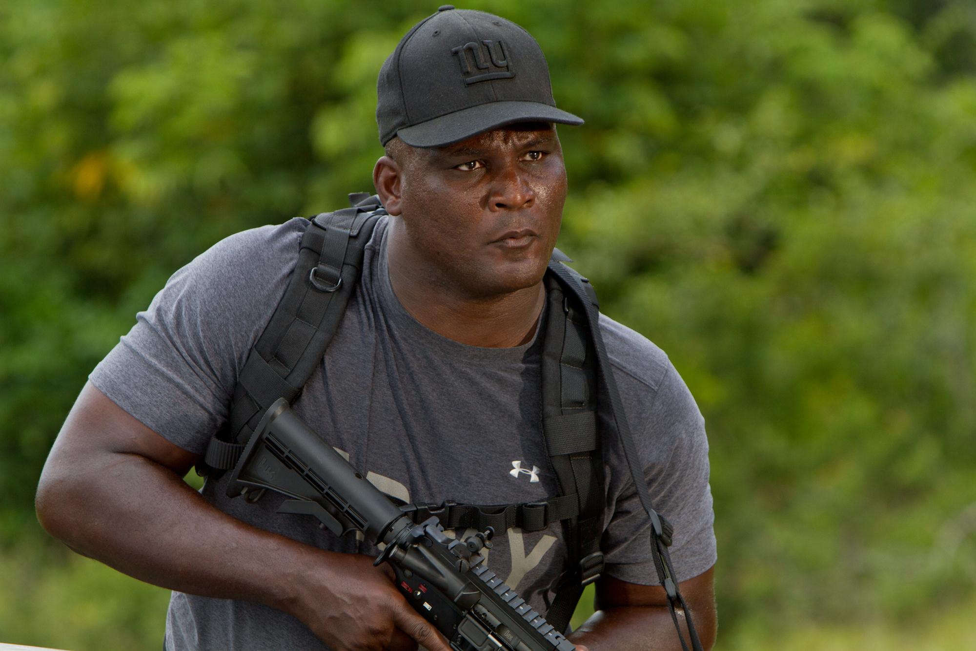 Black army guy