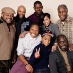 LUV Charles S. Dutton, Common, Dennis Haysbert, director Sheldon Candis, Meagan Good, Michael Rainey Jr. and Michael K. Williams