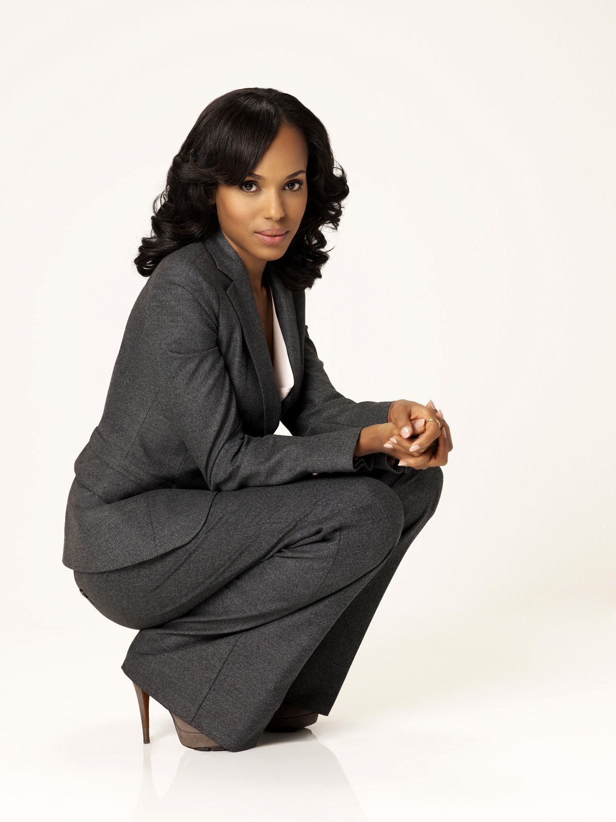 "SCANDAL – ABC's ""Scandal"" stars Kerry Washington as Olivia"