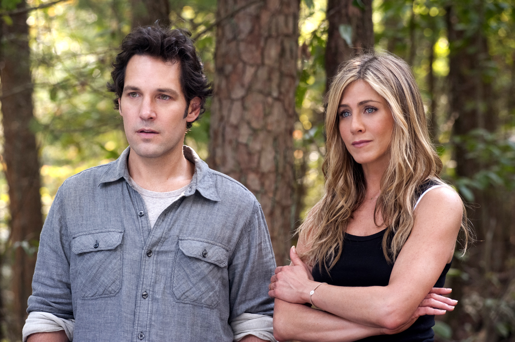 Gee Paul Rudd And Linda Jennifer Aniston In Wanderlust The Raucous