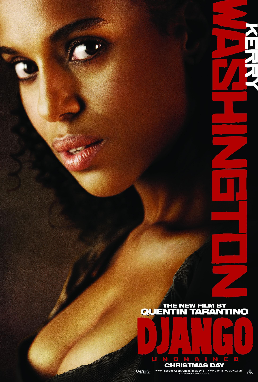 django-unchained-poster-kerry-washington - filmspoons