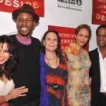 Streetcar Afterparty - Daphne Rubin-Vega, Wood Harris, director Emily Mann, Nicole Ari Parker, Blair Underwood