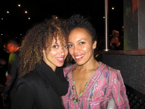 Streetcar Afterparty - Eisa Davis and friend