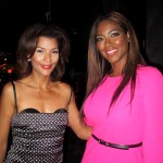 Streetcar Afterparty - Kenya Moore and friend