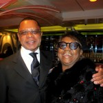 Streetcar Afterparty - producer Stephen Byrd and publicist Irene Gandy