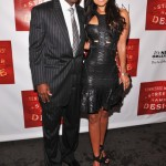 Streetcar opening - Deion Sanders and Tracey Edmonds