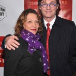 Streetcar opening - Richard Thomas and wife Georgiana Bischoff